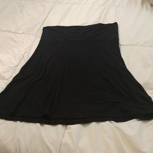 Old Navy Cotton A-Line Skirt, Size Large
